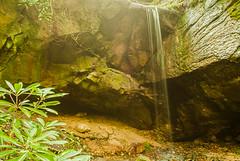 Honeymoon Falls (Back Road Photography (Kevin W. Jerrell)) Tags: waterfalls streams mountainstreams smokywater nikond60 backroadphotography pinemountainresortstatepark pineville kentucky pristine summer