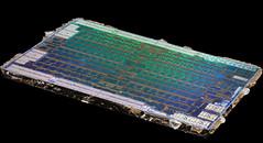 AMD@14nm@GCN_4th_gen@Polaris_10@Radeon_RX_470@1622_M60J5.0A_215-0876204___Stack-DSC07811-DSC07864_-_ZS-retouched (FritzchensFritz) Tags: lenstagger macro makro supermacro supermakro focusstacking fokusstacking focus stacking fokus stackshot stackrail amd radeon rx 470 480 polaris 10 gcn 4th gen 14nm gpu core heatspreader die shot gpupackage package processor prozessor gpudie dieshots dieshot waferdie wafer wafershot vintage open cracked