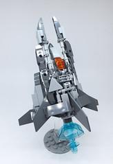 LEGO Nemesis VIC VIPER-21 (ToyForce 120) Tags: lego robot robots mecha mech mechanic legomech legomoc nemesis vicviper starfighter