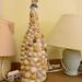 Unusual shell lamp