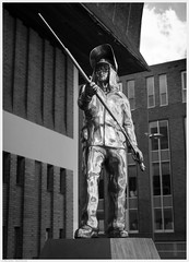 _DSF8643ed (alexcarnes) Tags: up hanley duck museum the steel man stainless casting statue sculpture r goodwin sons colin melbourne fuji xpro1 fujinon 35mm f2 wr stokeontrent staffordshire potteries