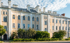 Early morning (alexxspb) Tags: morning  cloudy architecture building walking   sunny  architectural historic