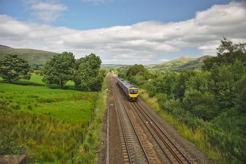 Train near Edale