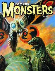 Famous Monsters #274 (2014) by Bob Eggleton (Tom Simpson) Tags: famousmonsters bobeggleton godzilla mothra kaiju illustration 2014 2010s art painting cover