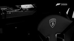 Hurácan LP620-2 Super Trofeo | #12 | FM6 (Mr. Pebb) Tags: xboxonephotomode xboxone fm6photomode forzamotorsport6photomode forzaseries foza6 forza6photomode forzamotorsport6 fm6 turn10 stockshot stockphotomode lamborghini hurácanlp6202supertrofeo italianracecar italian v10 rwd rearwheeldrive midengined mr blackandwhite bw closeup