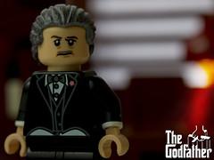 Don Vito Corleone (Just Bricks) Tags: lego don vito corleone the godfather marlon brando francis ford coppola 1972