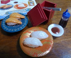 Box 8 of Petit Sushi Go Round Re-ment set (lyndell23) Tags: rement sushi miniature miniaturefood playfood