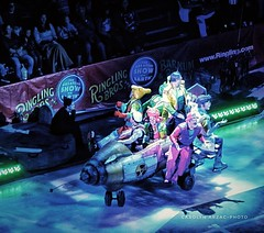 What Happened To The Clown Car? (Carolyn Arzac) Tags: nikon coolpix saltlakecity utah ringlingbrotherscircus clowns photos flickr