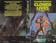 Pamela Sargent - Cloned Lives (Fontana 1981) (horzel) Tags: pamelasargent peterjones peterandrewjones clones fontanabooks