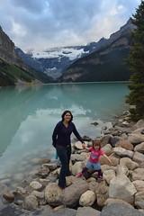 At Lake Louise (barry gahan) Tags: canada canadianrockies lakelouise icefieldsparkway