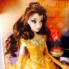 Belle of the Ball. (jlantistoys) Tags: disney disneystore dollphotography photography toycollector dollcollector toyphotography beautyandthebeast belle disneyprincess disneylimitededitiondolls le platinum beast