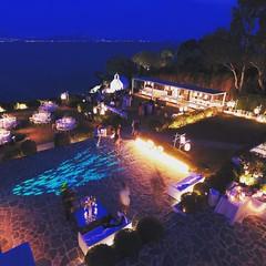 Private #wedding venue ready for #Reception. Wedding planning by @weddingingreece https://weddingingreece.com