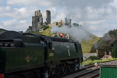 Swanage Railway 03 (Matt_Rayner) Tags: swanage railway corfe castle station steam train manston battle of britain class