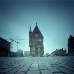Pinhole - Hamburg - 002 (callencoss) Tags: pinhole realitysosubtle 6x6 kodakektar100 hamburg germany lochkamera deutschland longexposure
