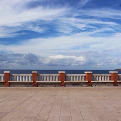 (Marek Kalich) Tags: sea summer italy cloudy sky blue simple walk outdoor travel explore