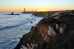 Pigeon Point Sunset (JINfotografo) Tags: pigeonpoint lighthouse pacificocean coastside sanmateocounty california northerncalifornia landscape seascape nikon d7000