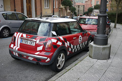 Mini Cooper (Jusotil_1943) Tags: coche auto cars redcars