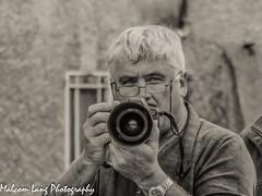 Selfie in b/w (Malcom Lang) Tags: mono bw black white selfie camera background watch glasses