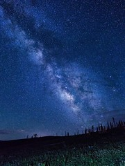 The Heavens (PlataYOro) Tags: ifttt 500px colorado mountains landscapes hike hiking camp camping adventure explore mountain outdoors forest sky clouds trees travel beautiful summer water blue green sun tree light stars night time astro astrophotography milky way