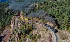 A room with a view (kdmadore) Tags: drgw denverriograndewestern durangosilverton dsng durango silverton steamlocomotive steamengine railroad train narrowgauge