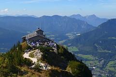 Eagles Nest,  Berchtesgaden, Bavaria (BuzzTrips) Tags: eaglesnest berchtesgaden bavaria germany hitlersmountainteahouse worldwariibuildings history ww2 kehlsteinhaus vantagepoint viewpoint mountains lookingdown heights
