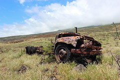 Rusty Gold (russ david) Tags: hna highway hana the road maui september 2016 truck hawaii