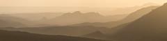 Golden hour at the desert (Alex Savenok) Tags: negev desert golden hour israel israelnature panorama sunset crater ramon machtesh