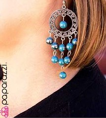 Glimpse of Malibu Blue Earring K2 P5712-2