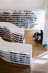 Another corner in Library (bady_qb) Tags: design singapore interior library books orchard minimalist shelfs
