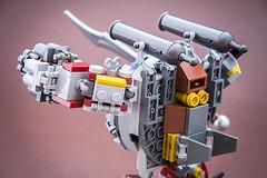 Rusty suit (Milan Sekiz) Tags: robot fighter lego steam suit cannon sword mecha