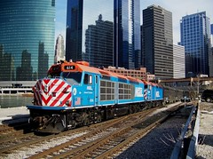Not repeatable (Robby Gragg) Tags: chicago metra 614 f40c