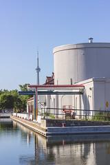 Toronto Islands, ON - Summer 2014 (calmar) Tags: toronto islands ontario canada cn tower cntower