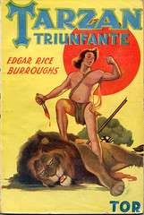 Tarzán triunfante (ciudad imaginaria) Tags: books book tarzán tarzan edgarriceburroughs 40s libros