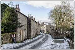 A Snowy Day at Kettlewell (Digital Wanderings) Tags: winter snow yorkshiredales cottages kettlewell