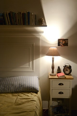 (Silvia Sala) Tags: trip travel light summer vacation italy house holiday detail travelling home architecture bed bedroom italia room warmth indoor books comfort decor puglia furnishing apulia