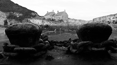 Cove Harbour (gavmroberts1984) Tags: landscape scotland harbour cove historic east fujifilm dunbar lothian