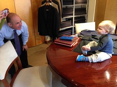 "Jeff Landis with Paul at Montopoli Custom Clothiers • <a style=""font-size:0.8em;"" href=""http://www.flickr.com/photos/109120354@N07/15995862484/"" target=""_blank"">View on Flickr</a>"
