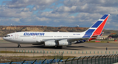 Cubana IL-96-300 CU-T1251 (birrlad) Tags: madrid airplane airport spain taxi aircraft aviation airplanes havana cuba airline airways mad airlines departure takeoff airliner departing cubana taxiway ilyushin il96 il96300 cut1251 cu471