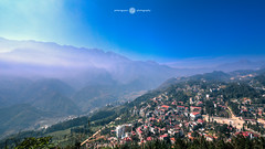 Sapa Town ( Peter Nguyen) Tags: mountain bluesky sapa clearsky mountainrange canon1740 fansipan phanxipang hoanglienson