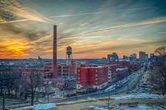 Richmond Virginia sunset (Mobilus In Mobili) Tags: sunset virginia interesting flickr richmond explore luckystrike rva mobilusinmobili