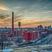 Richmond Virginia sunset