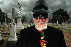 Salvadore Dolgorukov (Studio d'Xavier) Tags: portrait cemetery graveyard gangster 365 voodoo day60 strobist werehere 60365 cemeterypeople day60365 365the2015edition 3652015 1mar15 march12015