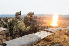 150302-A-KG432-207 (Atlantic Resolve) Tags: training estonia european arms poland baltic latvia atlantic ranges mounted program land states foreign combat 2d command 3rd joint lithuania cavalry weapons lt squadron regiment multinational resolve reassurance dismounted jmtc pabrade