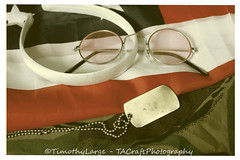 643 of 730 -  One day in June '67 (Hi, I'm Tim Large) Tags: stilllife love loss up sisters america lost death fight war brothers young teenagers teen fighting tabletop teenage cll grieve conscription americian timlarge tacraftphotography tacrafts