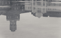 Sstpankinranta (Explored) (Antti Tassberg) Tags: winter blackandwhite bw reflection monochrome canon finland helsinki explore photowalk talvi antti uusimaa tassberg
