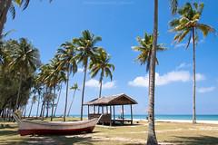 'Summer'. . . (Hafiz_Markzzaki) Tags: sea beach landscape boat seaside nikon scenery malaysia terengganu setiu penarik nikond3000 terrapuriheritagevillage kampungmangkuk sekuci nikkorafsdx18105mm