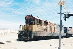 Ferrocarril de transporte de cido. Mejillones, Chile. (PalermoBahamondes) Tags: chile mejillones ferrocarril