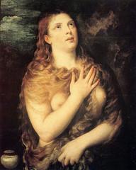 Titien - Sainte Marie-Madeleine (mariemadeleinenumerique) Tags: peinture italie titien repentie