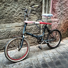 A bike in Medina #Casablanca #Morocco #travel #errante