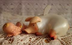 sleep under the protection of the angel (hruki_hru) Tags: monster pig hunter pugi
